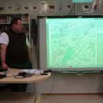 Tero Mustonen esitteli hankkeen tuloksia.