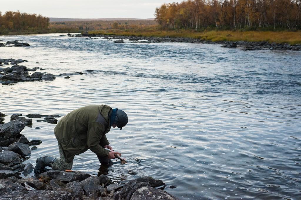 Näätämöjoki on ohjelman pohjoisin kohde.