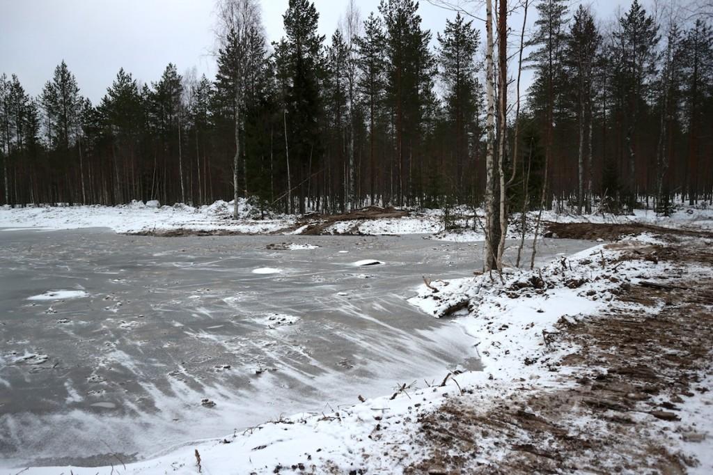 Vehkasuon uusi kosteikko Jukajoen valuma-alueella, 2017