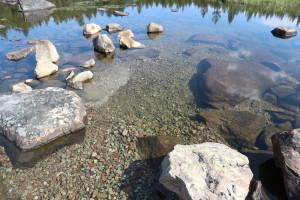 Vainosjoen ennallistaminen saatiin valmiiksi 2019 Näätämön valuma-alueella.